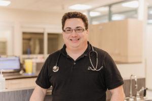 Veterinarian Hugues Lacoste